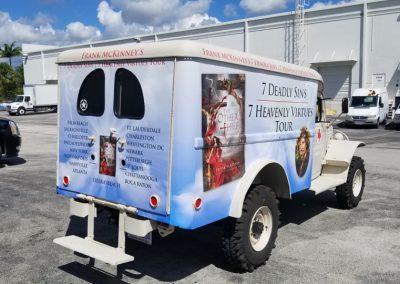 vehicle wraps by Landy Marketing