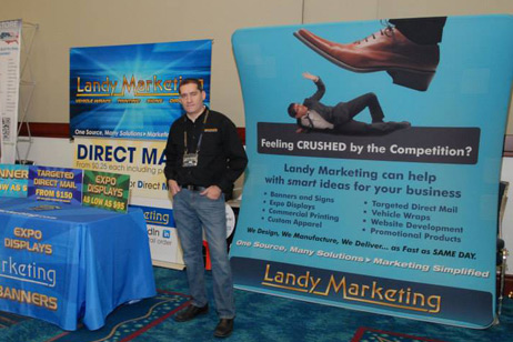 Trade Show Displays by Landy Marketing